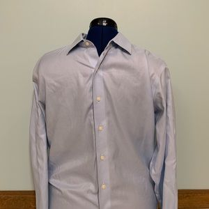 Brooks Brothers Slim Fit Cotton Button Up Mens (L)